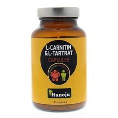 Hanoju L-Carnitine L-Tartraat 500 mg (150 vcaps)