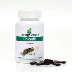 Livinggreens Chlorella tabletten (250 tabletten)