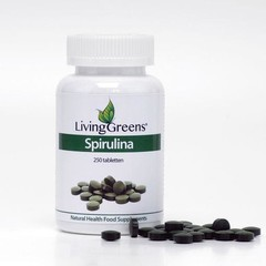 Livinggreens Spirulina tabletten (250 tabletten)