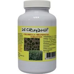 Cruydhof Chlorella / brandnetel (200 tabletten)