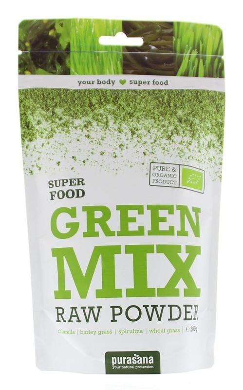 Purasana Green mix powder (200 gram)