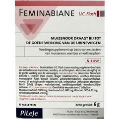 Pileje Feminabiane flash (6 tabletten)