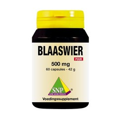 SNP Blaaswier 500 mg puur (60 capsules)