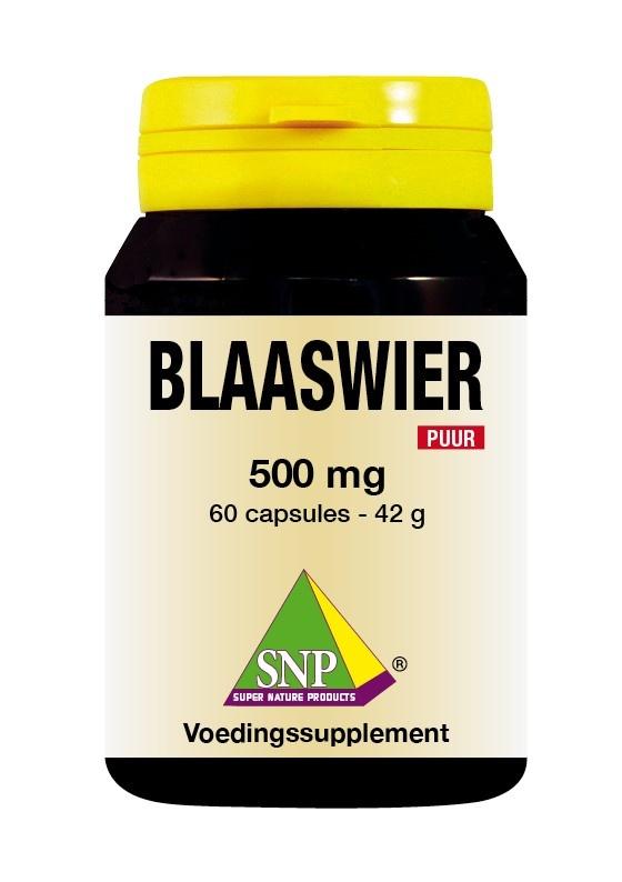 SNP SNP Blaaswier 500 mg puur (60 capsules)