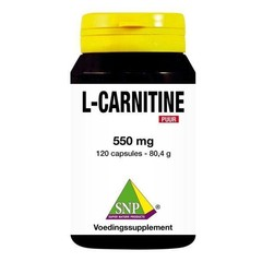 SNP L Carnitine 550 mg puur (120 capsules)