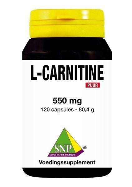 SNP SNP L Carnitine 550 mg puur (120 capsules)