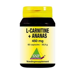 SNP L Carnitine ananas 450 mg (60 capsules)