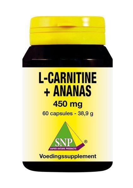 SNP SNP L Carnitine ananas 450 mg (60 capsules)