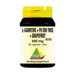 SNP L Carnitine pu erh grapefruit (60 capsules)