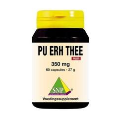 SNP Pu erh thee 350 mg puur (60 capsules)