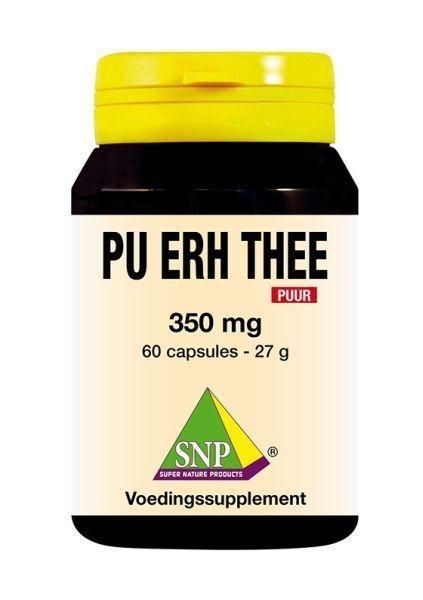SNP SNP Pu erh thee 350 mg puur (60 capsules)