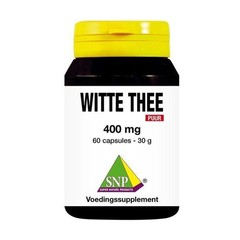 SNP Witte thee 400 mg puur (60 capsules)