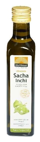 Mattisson Mattisson Absolute sacha inchi olie extra virgin bio (250 ml)