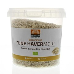 Mattisson Havermout fijn biologisch (400 gram)