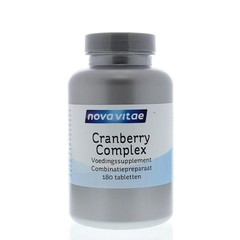 Nova Vitae Cranberry D-mannose complex (180 tabletten)