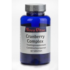 Nova Vitae Cranberry D-mannose complex (90 tabletten)