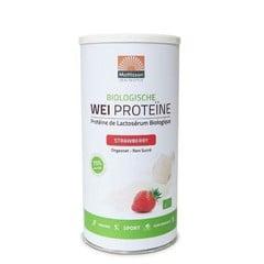 Mattisson Bio wei whey proteine aardbei 80% (450 gram)