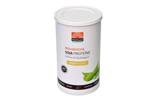 Mattisson Mattisson Vegan soja proteine bio 90% (350 gram)