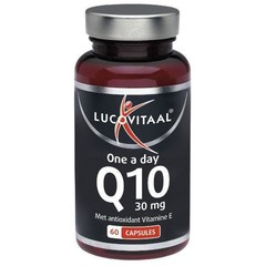 Lucovitaal Q10 30 mg one a day (60 capsules)