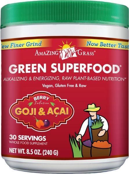 Amazing Grass Amazing Grass Berry goji acai green superfood (240 gram)