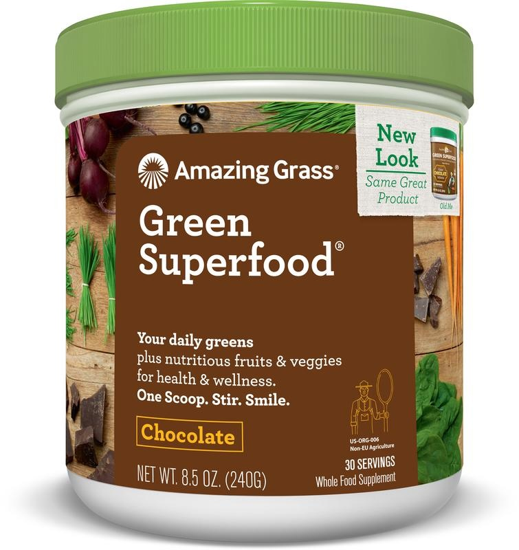 Amazing Grass Amazing Grass Chocolate green superfood (240 gram)