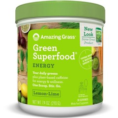 Amazing Grass Energy lemon lime green superfood (210 gram)