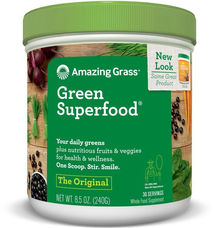Amazing Grass Amazing Grass Green original superfood (240 gram)