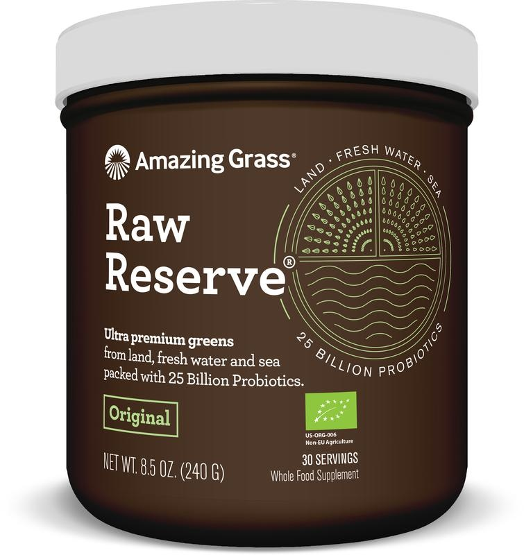 Amazing Grass Amazing Grass RAW Reserve green superfood (240 gram)