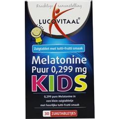 Lucovitaal Melatonine kids puur 0.299 mg (30 tabletten)