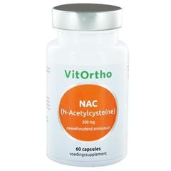 Vitortho NAC N-Acetyl cysteine 500 mg (60 capsules)