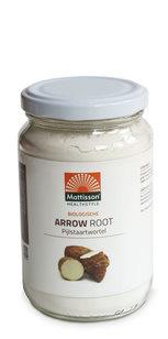 Mattisson Mattisson Arrow root pijlstaartwortel poeder bio (190 gram)