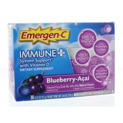 Bophar Emergen-C immune+ zwarte bes (30 sachets)