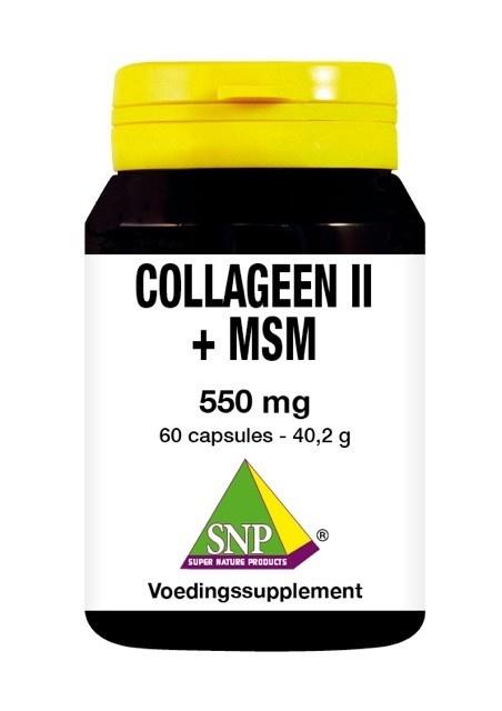 SNP SNP Collageen II + MSM (60 capsules)