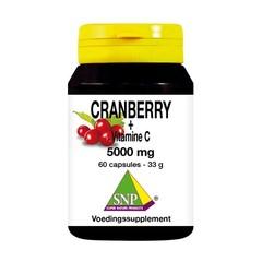 SNP Cranberry vitamine C 5000 mg (60 capsules)