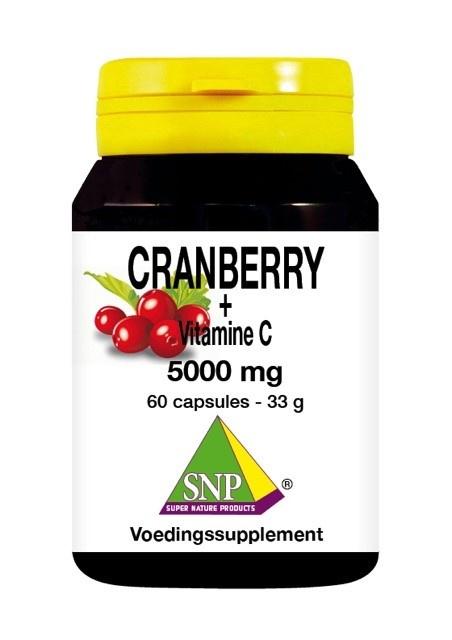 SNP SNP Cranberry vitamine C 5000 mg (60 capsules)
