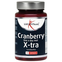 Lucovitaal Cranberry+ xtra forte (30 capsules)