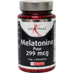 Lucovitaal Melatonine puur 0.299 mg (200 tabletten)