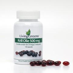 Livinggreens Krillolie (120 capsules)