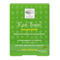 New Nordic Ear tone (30 tabletten)