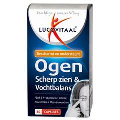 Lucovitaal Ogen scherp zien & vochtbalans (30 capsules)