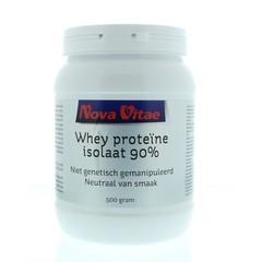 Nova Vitae Whey proteine isolaat 90% (500 gram)
