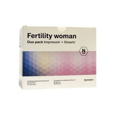 Nutriphyt Fertility woman duo 2 x 60 capsules (120 capsules)