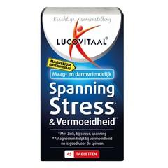 Lucovitaal Magnesium spanning stress & vermoeidheid (45 tabletten)