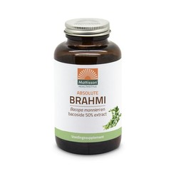 Mattisson Brahmi bacopa monnieri bacoside 50% extract (120 tabletten)