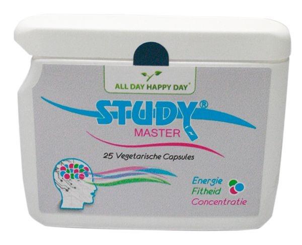 Alldayhappyday Alldayhappyday Study master (25 vcaps)