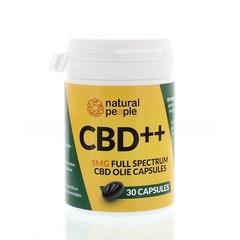 Natural People CBD Softgelcaps (30 capsules)