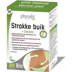 Physalis Strakke buik bio (45 tabletten)