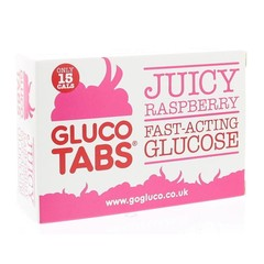 Glucotabs Framboos geseald (20 tabletten)