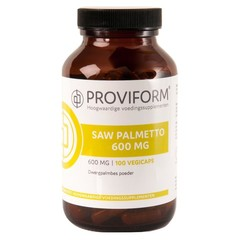Proviform Saw palmetto 600 mg (100 vcaps)