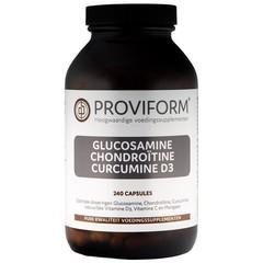Proviform Glucosamine chondroitine curcuma D3 (240 capsules)